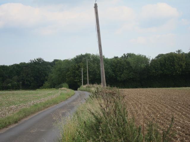 Road south of Doddington