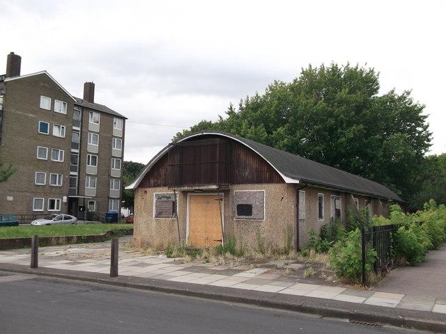Former Nissen Hut, Abbey Wood