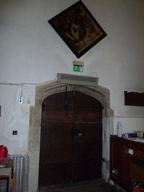Odiham, All Saints: North door (inside)