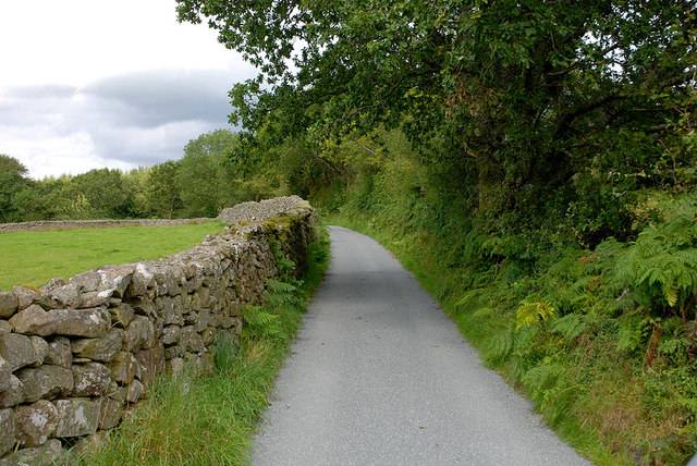 Minor road near Carreg-y-gâth
