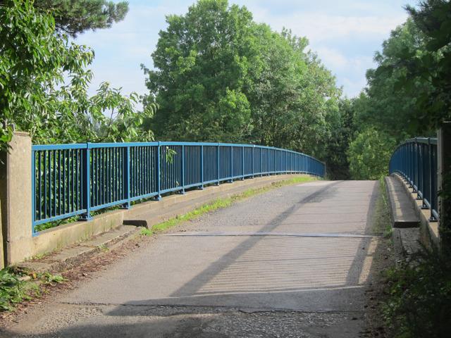 Bridge over M2