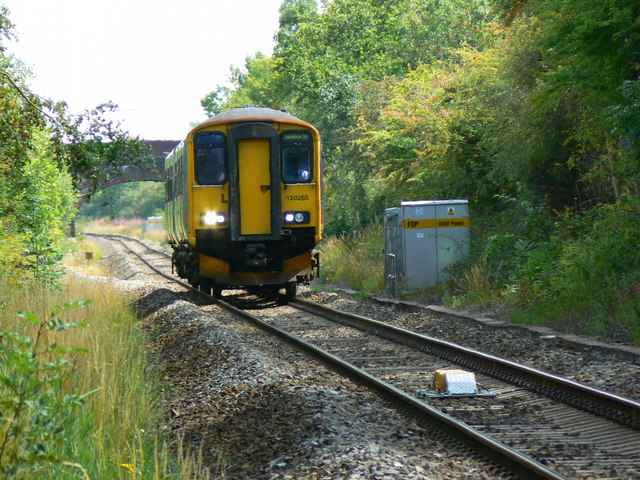 Local train to Gloucester from Swindon, near Minety