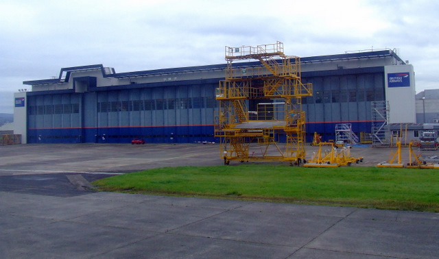 British Airways hangar