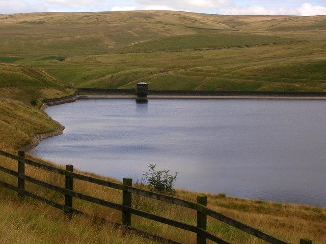 Rooden reservoir, western side