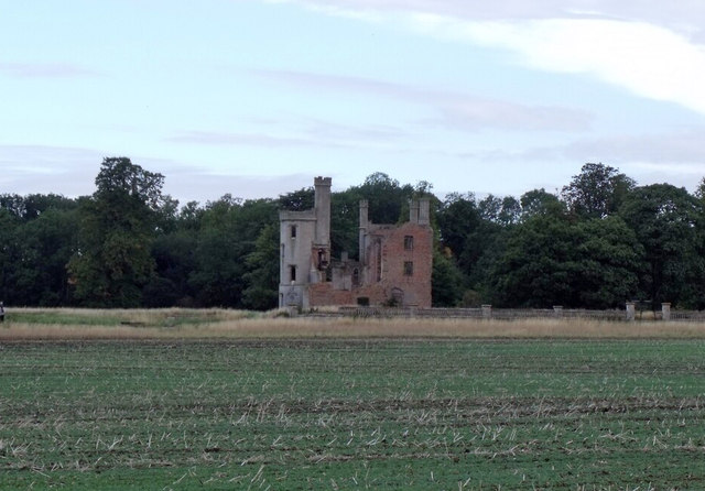 Remains of Haverholme Priory