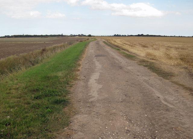 Private Track near Summercroft Farm