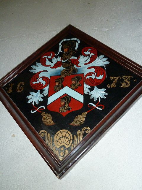 Odiham, All Saints: hatchment