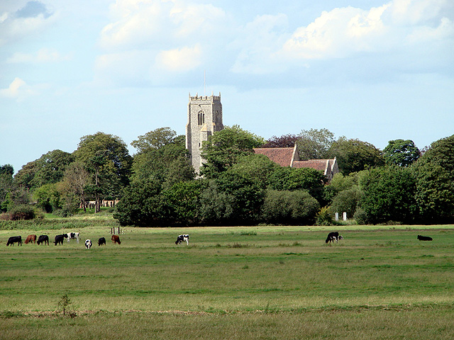 An  archetypical English pastoral scene