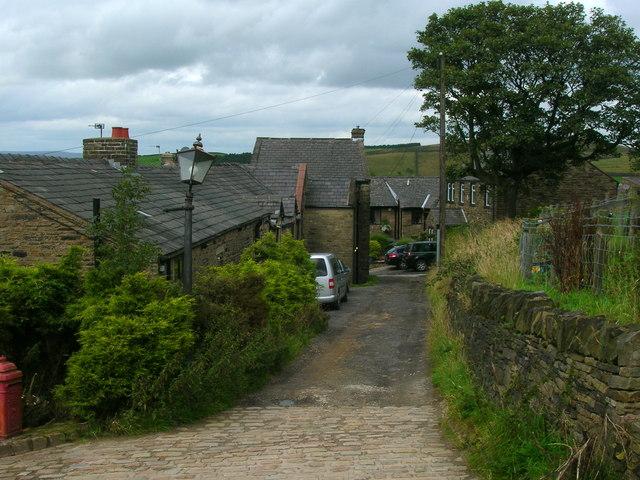 The hamlet of Upper Ogden