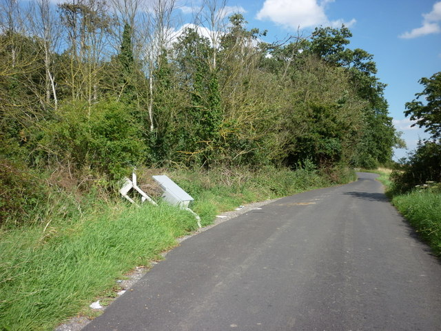Fly tipping near Bulldike Bridge