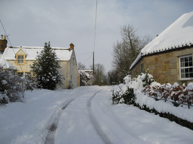 November snow in Horndean