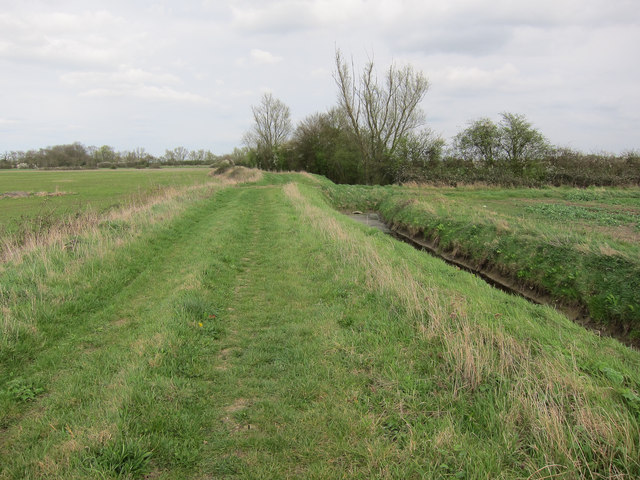 Byway along Catchwater Drain