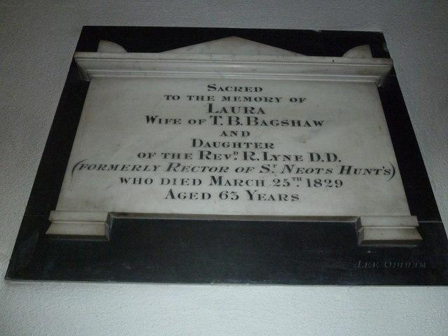 Odiham, All Saints: memorial (2)