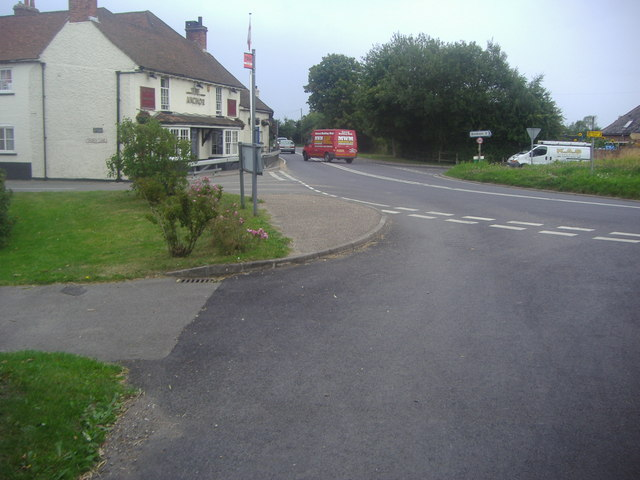 Corner of Church Lane and Street End Road