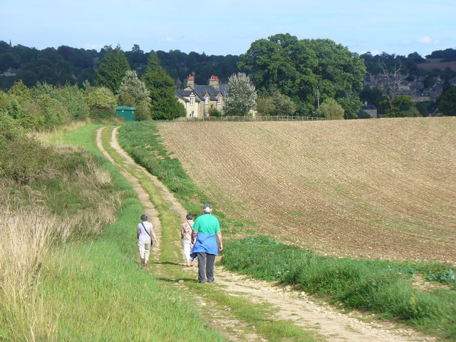 Bridleway to Walcot