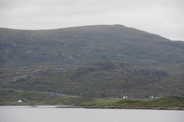 Kendebig (Ceann Dibig) from the sea
