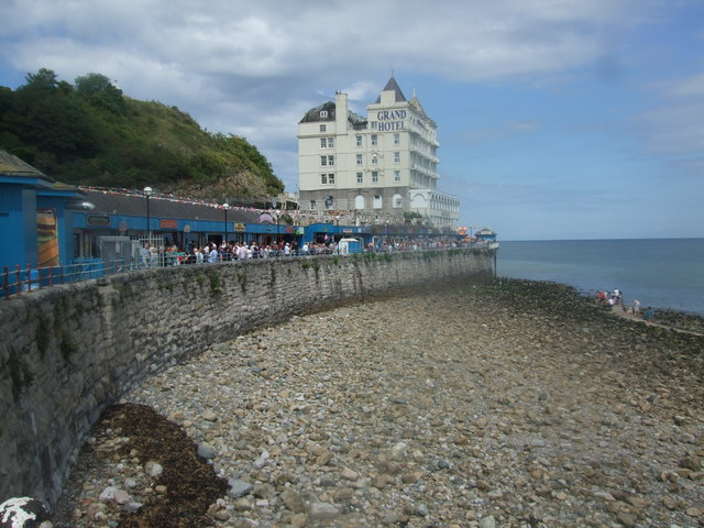 The Grand Hotel and pier entrance