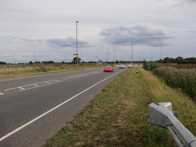 New road around Longstanton