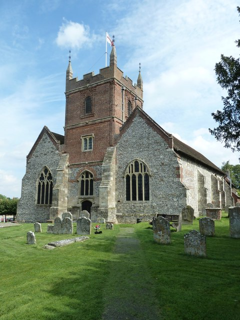 All Saints, Odiham in August 2011