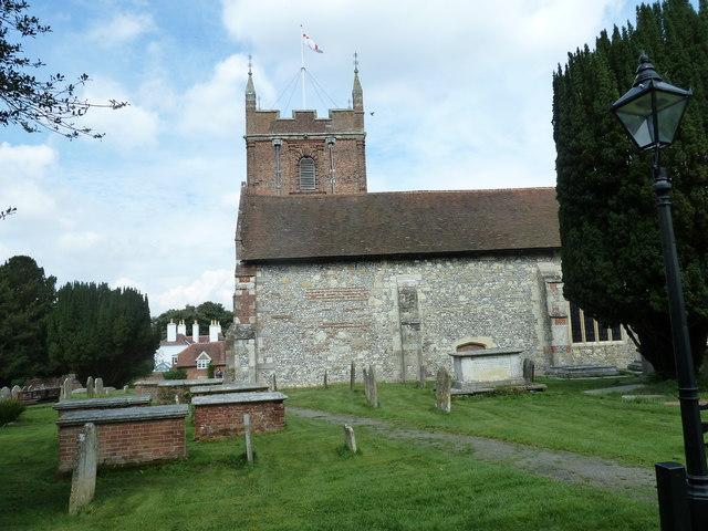 Odiham, All Saints: churchyard (3)