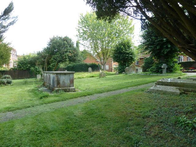 Odiham, All Saints: churchyard (5)