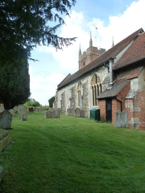 Odiham, All Saints: churchyard (7)
