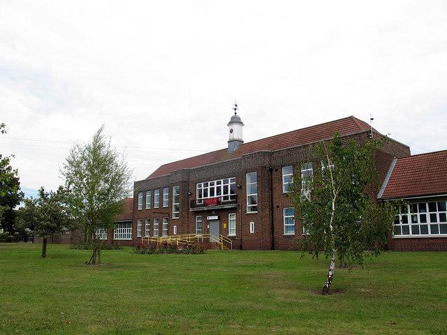 Manor Junior School - main building