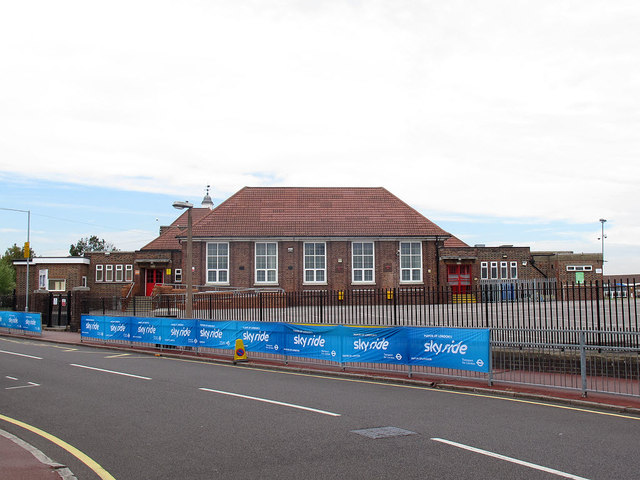 Manor Junior School - main building, south end