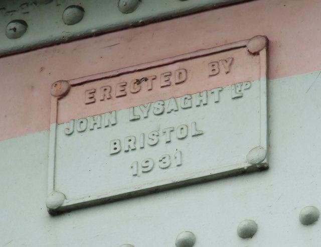 Bridge maker's plaque