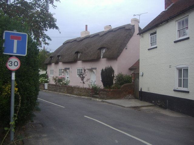 Cottages on Church Lane, Street End