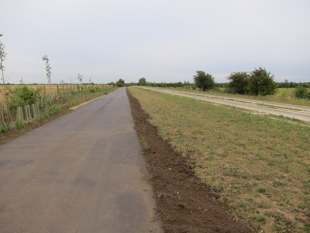 Guided busway bridleway