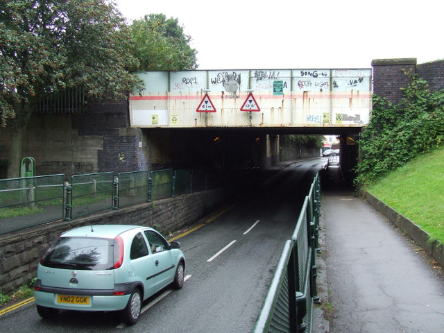 Railway bridges on St Luke's Road
