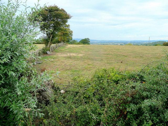 View west from Longridge