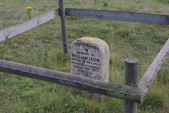 Memorial stone on Quy Fen