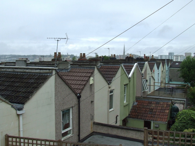 Bristol rooftops