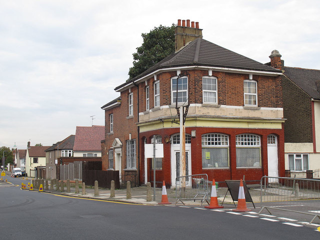 Closed pub