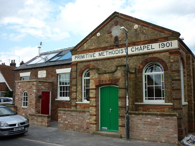 A Primitive Methodist Chapel, Great Hatfield