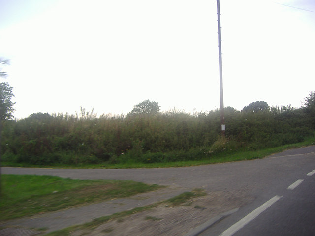 Entrance to track on Selsey Road