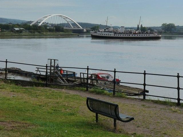 MV Balmoral on the River Usk [1]
