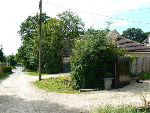 Track to Hornbury Hill, Minety