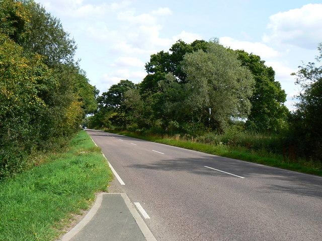 B4040 Malmesbury Road east of Minety