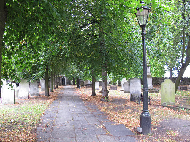 Path in St Margaret's churchyard