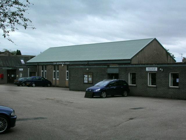 The Memorial Hall, Burton-in-Kendal