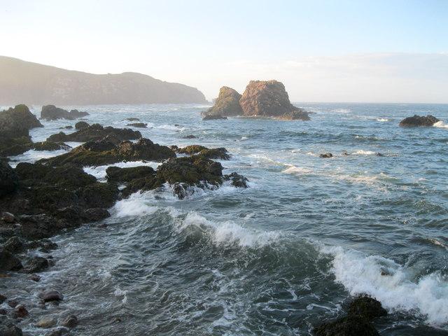 Coastline at St Abbs