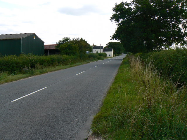 South along the B4696 near Leigh