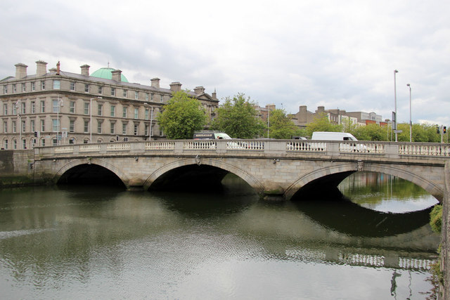Bridge over the River Liffey, Dublin, Ireland