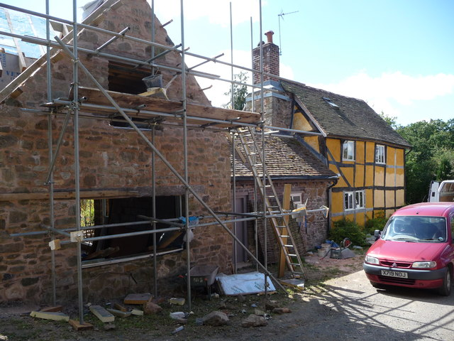 Cottage renovation near Kingswood in the Wyre Forest