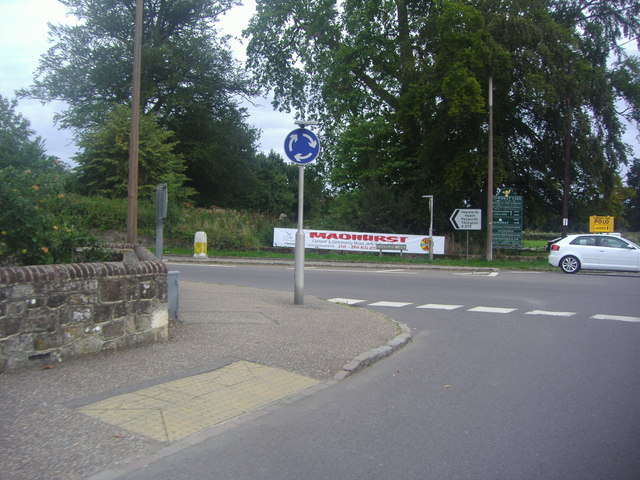 Junction of the A286 and A272, Easebourne
