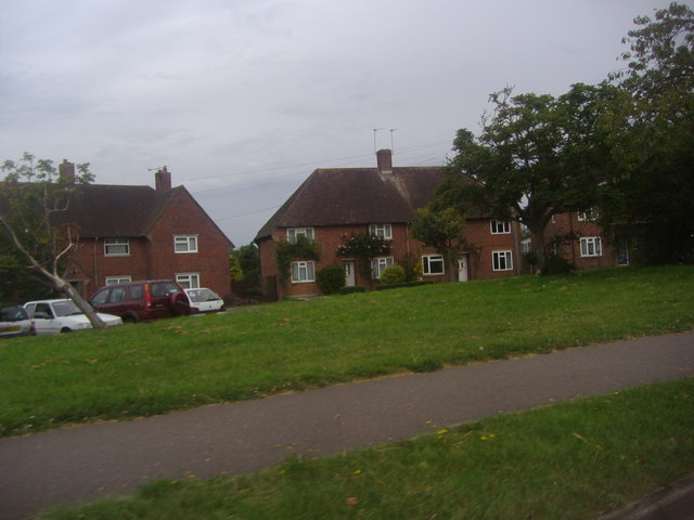 Houses on St Nicholas Road from the A286