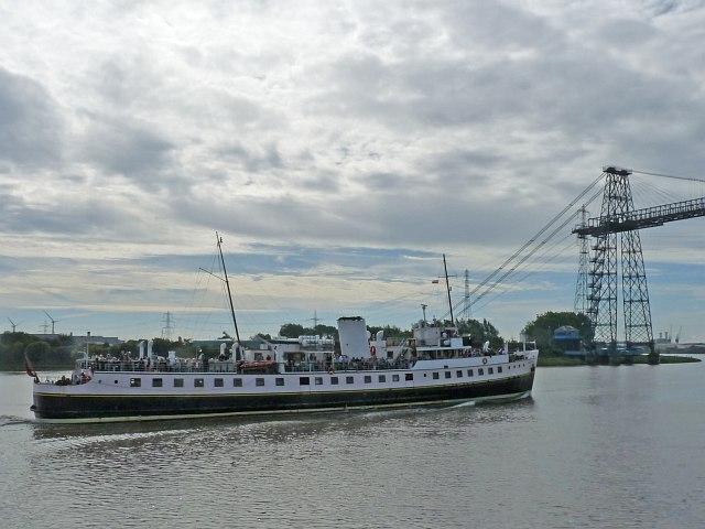MV Balmoral on the River Usk [4]